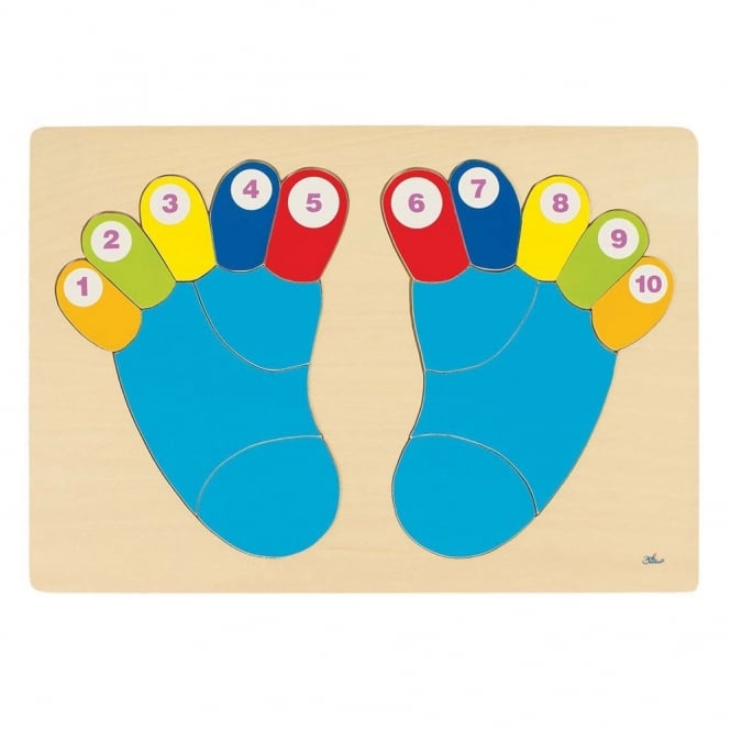 Counting Toes Puzzle