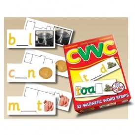 CVVC Magnetic Word Strips