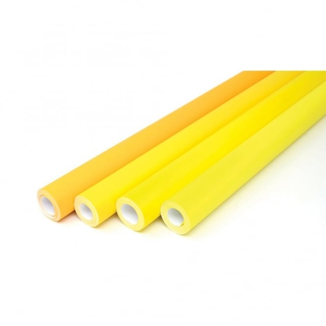 Dash 5 Assorted Poster Paper Rolls - Yellows Collection
