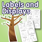 Labels and Displays