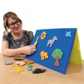 Double Sided Felt Teaching Board