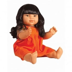 East Asian Girl Vinyl Doll - 40cm