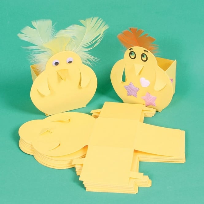 Easter Chick Boxes Re Festivals From Early Years Resources Uk