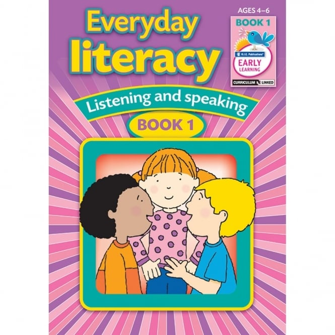Everyday Literacy - Speaking And Listening Book 1