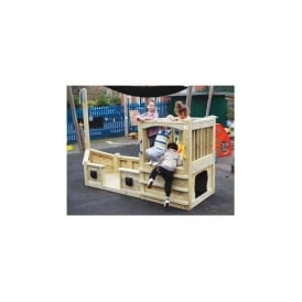 EYR Pirate Ship - Outdoor Play