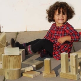 EYR Rustic Play Blocks Special Offer 2 X 2 Boxes