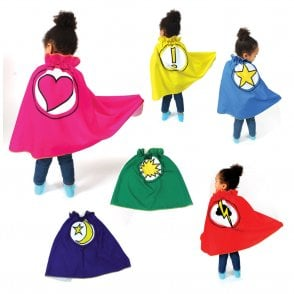 EYR Superpower Superhero Cape Set