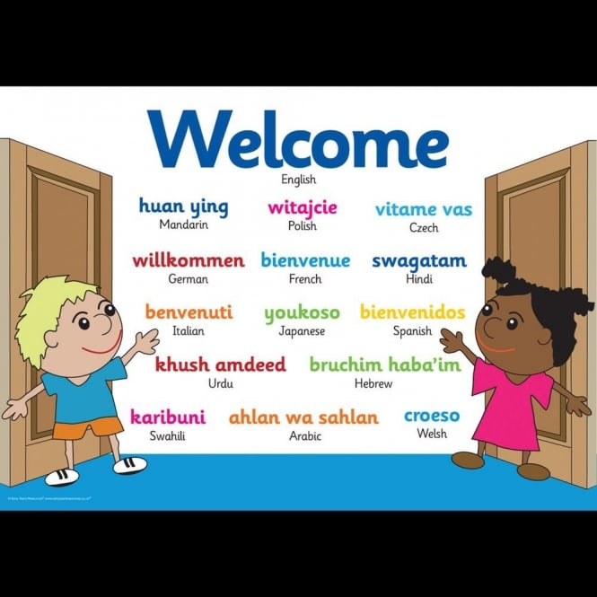 EYR Welcome Poster