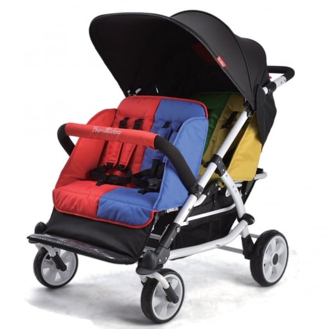 Familidoo Lightweight 4 Seater Stroller Nursery