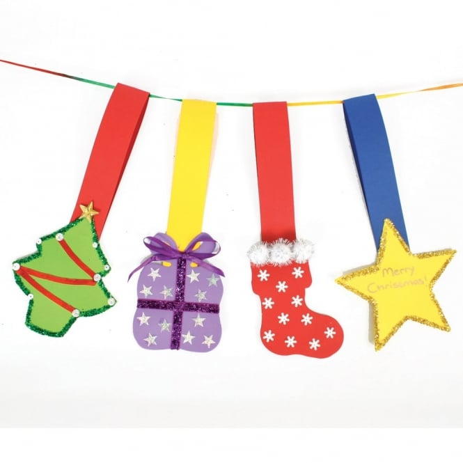 Festive Christmas Shaped Hangers (Pack of 30)