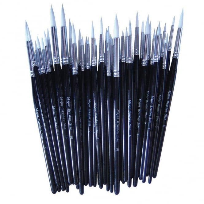 Fine Point Paint Brushes Assortment