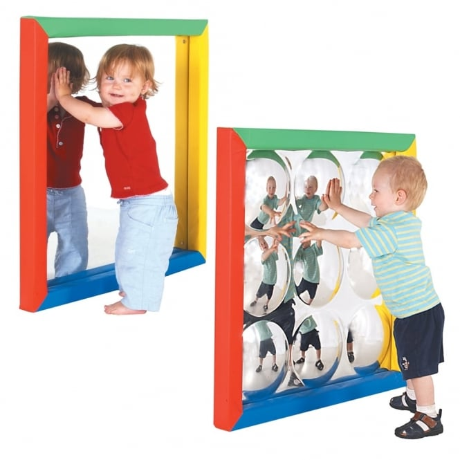 Flat and Convex Sensory Mirrors Offer