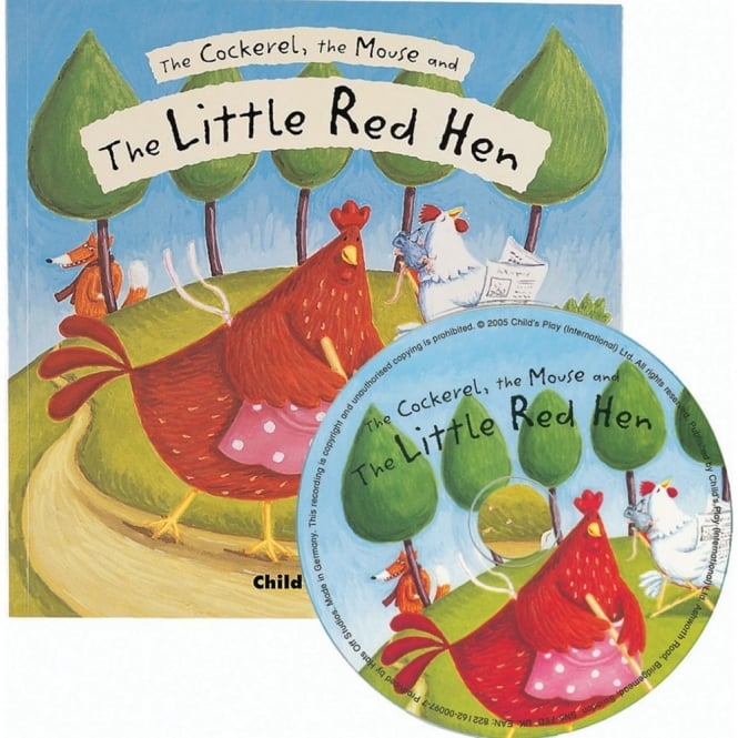 Flip Up Fairy Tales: The Little Red Hen By Jess Stockham