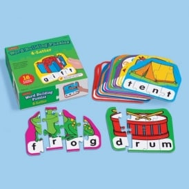 Four Letter Word Building Puzzles