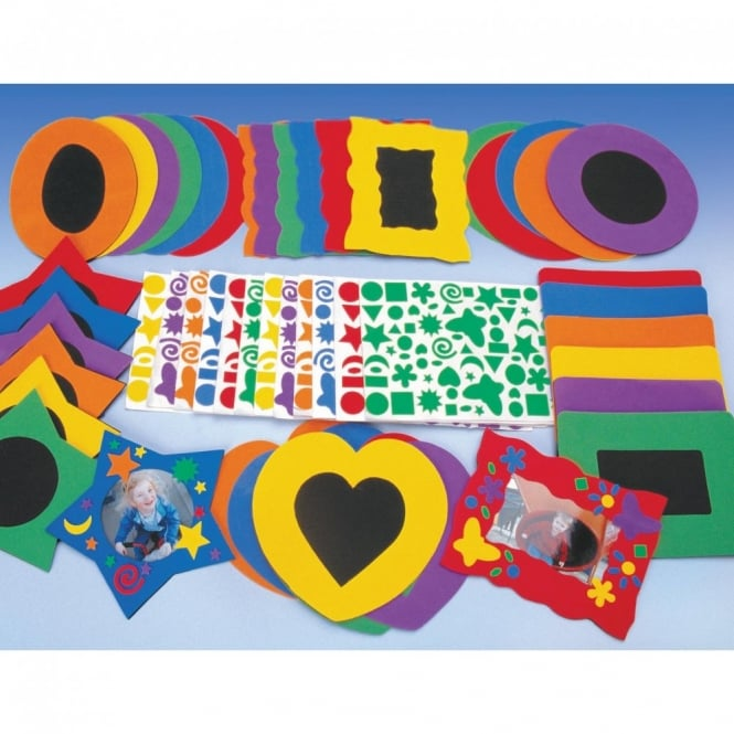 Fun Foam Frames - Set Of 36 - Art & Craft from Early Years Resources UK