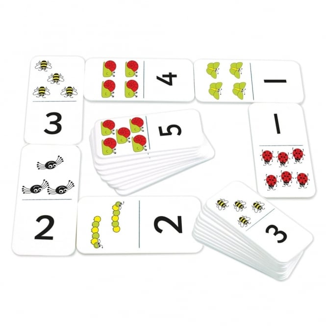 Giant Number And Bug Dominoes