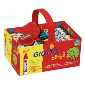 Giotto Be-Be Super Crayons