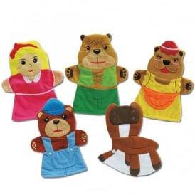 Goldilocks & The Three Bears Storytelling Puppets