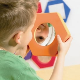 Hexagonal Softie Mirrors
