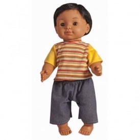 Indian Boy Vinyl Doll - 40cm