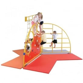 Indoor And Outdoor Climbing Frames Slides For Children