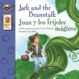 Jack & The Beanstalk English/Spanish Book