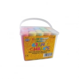 Jumbo Playground Chalk 20 Sticks
