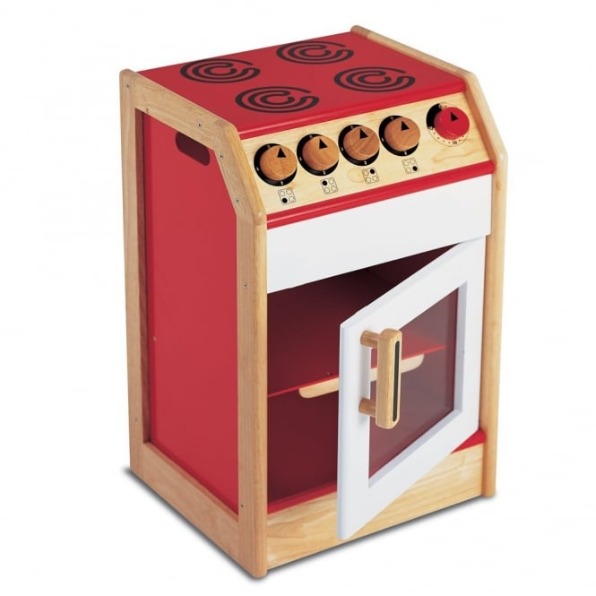 Junior Chef Wooden Play Cooker