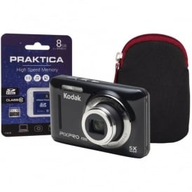 Kodak PixPro FZ53 Black Camera Kit