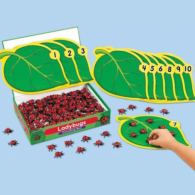 Ladybird Counting Box