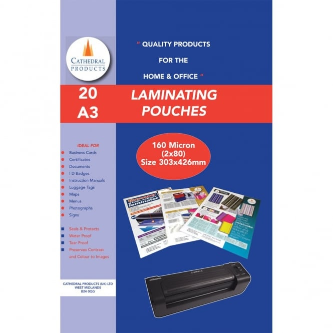 Laminating Pouches - A3