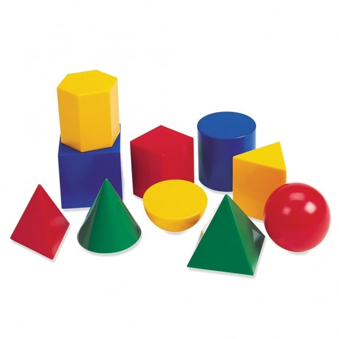 Large Plastic Geoshapes