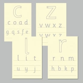 Letter Formation Tracing Boards