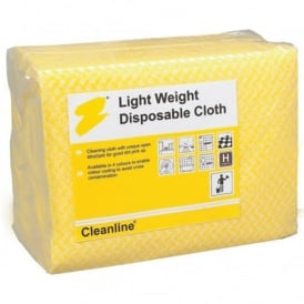Light Weight Disposable Cloths Pack Of 100