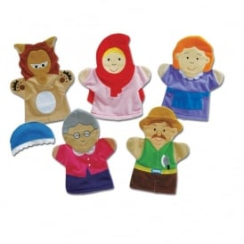 Little Red Riding Hood Storytelling Puppets
