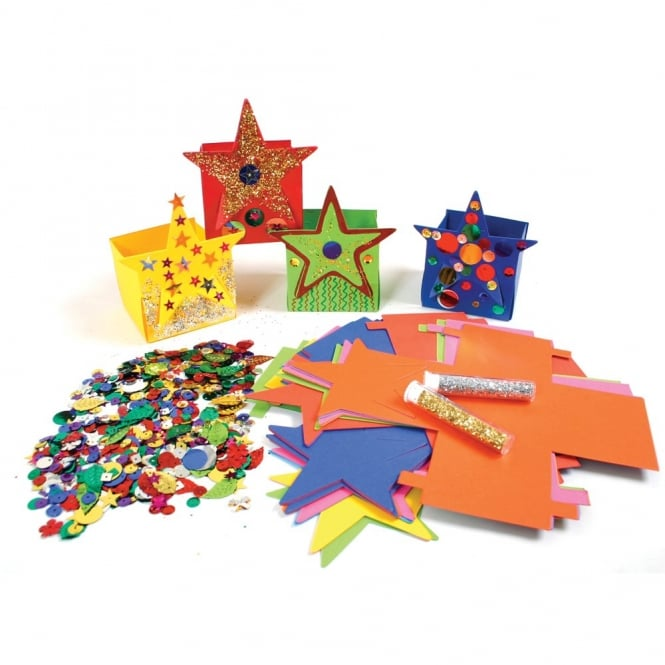 Little Star Boxes - Card Box Shapes