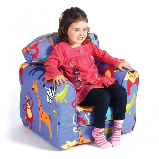 Loose Cover Blue Lion Children's Armchair - Furniture from ...