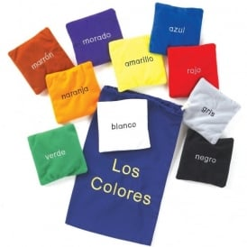 Los Colores (Spanish Colours) Bean Bags