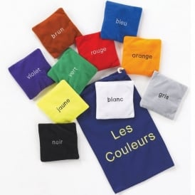 Los Couleurs (French Colours) Bean Bags