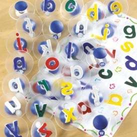 Lower Case Alphabet Paint Stampers