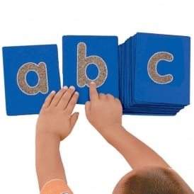 Lowercase Tactile Letters