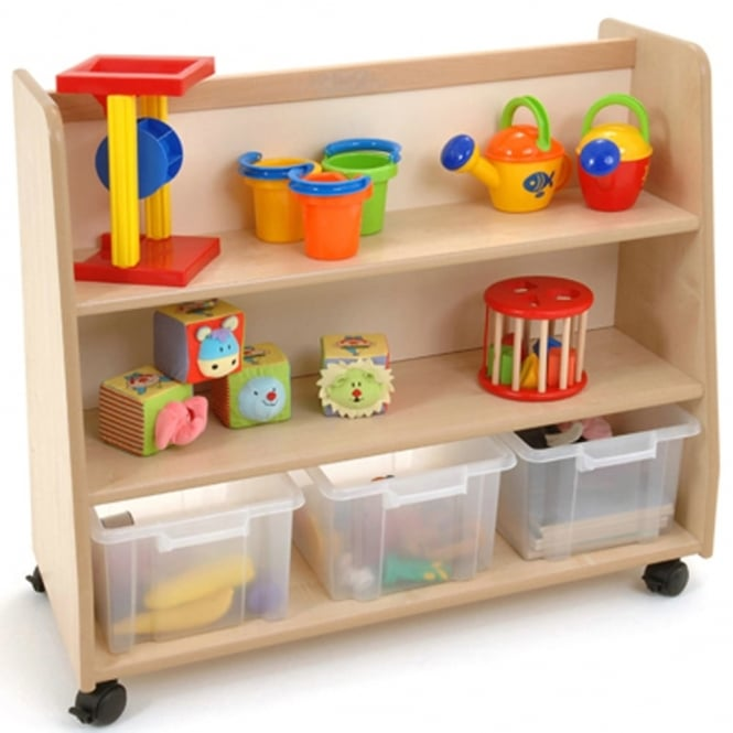 Magellan 3 Shelf Unit With Tubs