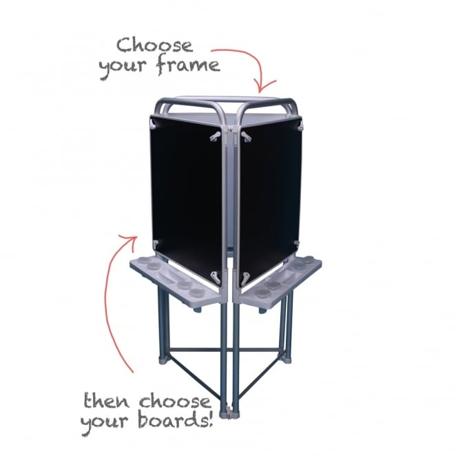 Magnetic Chalkboard for the Make Your Own Easel - Art & Craft from ...