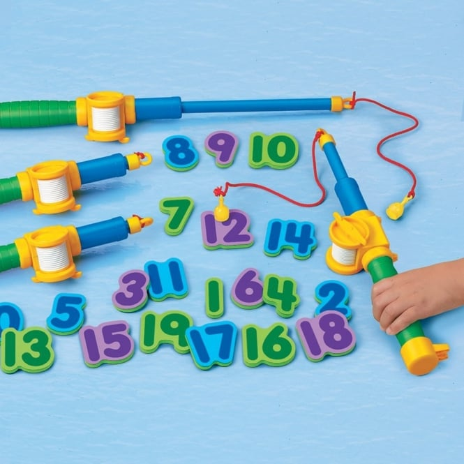 Magnetic Numbers Fishing Set