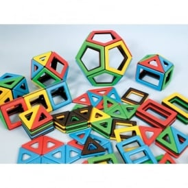 Magnetic Polydron Super Shape Set