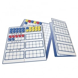 Magnetic Ten Frames And Counters