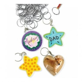 Make Your Own Key Ring Set Of 12