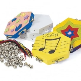 Make Your Own Tambourine Kit For 12