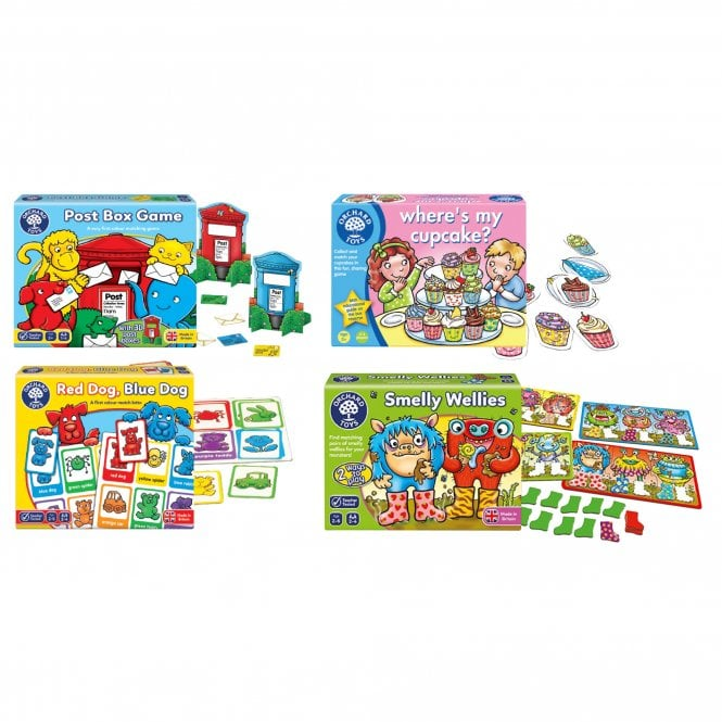 Matching Games Pack - Numeracy from Early Years Resources UK