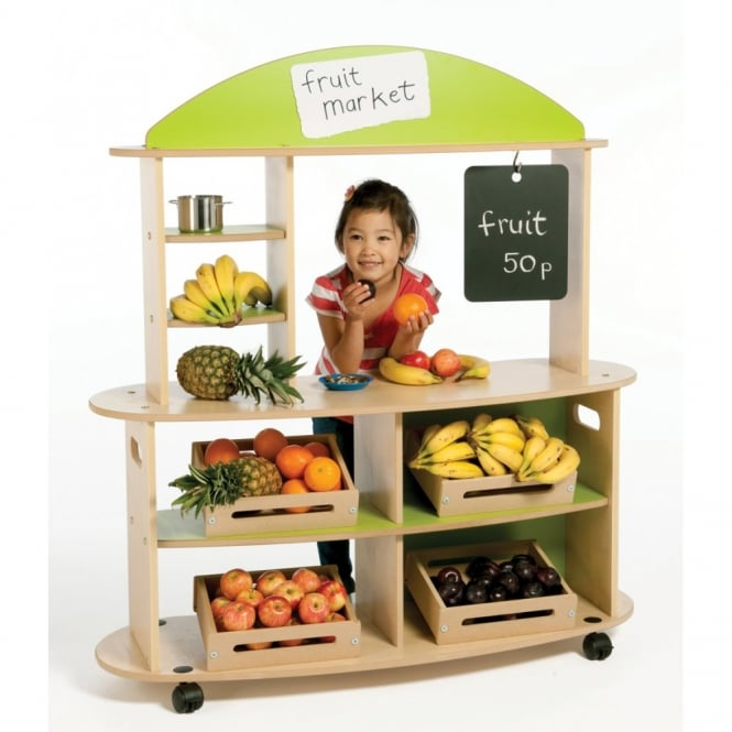 Wooden Market Stall Unit
